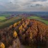 Eine Aussicht auf den Landkreis Helmstedt vom Heeseberg aus.