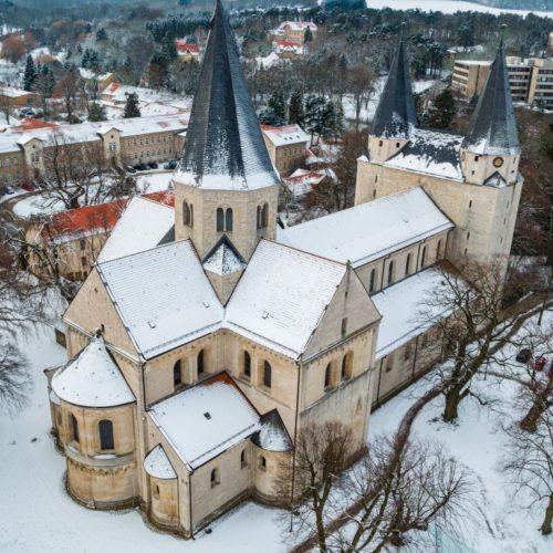 Kaiserdom Königslutter im Winter