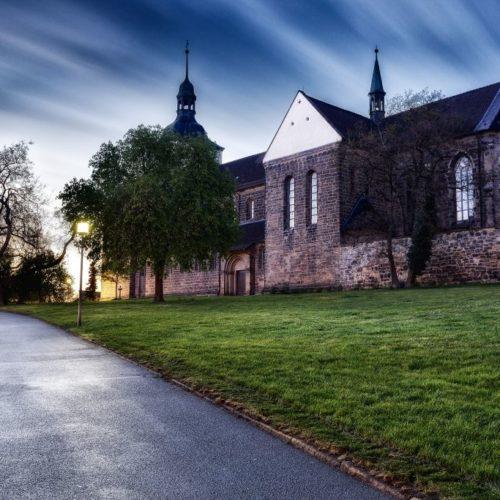 St. Marienberg bei Nacht