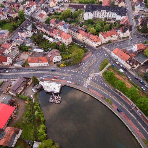Aufsicht auf Helmstedt