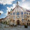 Das Rathaus in der Innenstadt Helmstedt