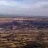 Der ausgekohlte Schöninger Tagebau.