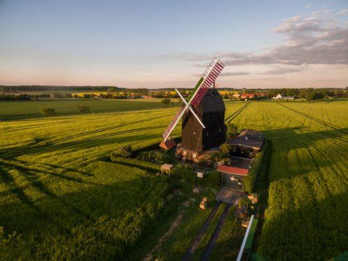 Windmühle bei Eimersleben.