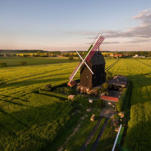 Windmühle bei Eimersleben
