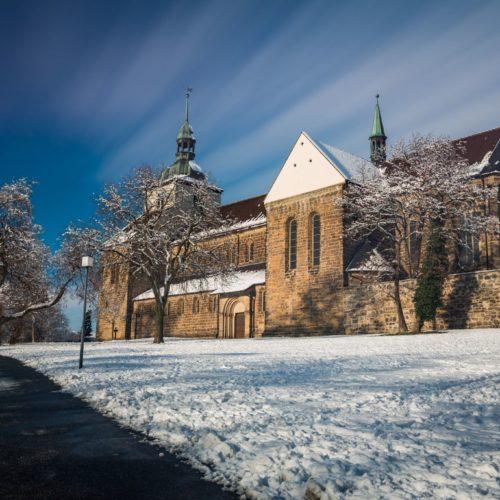 St. Marienberg im Schnee