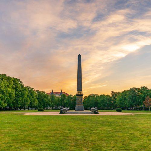 Obelisk Löwenwall