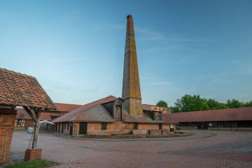 Die alte Ziegelei in Hundisburg.