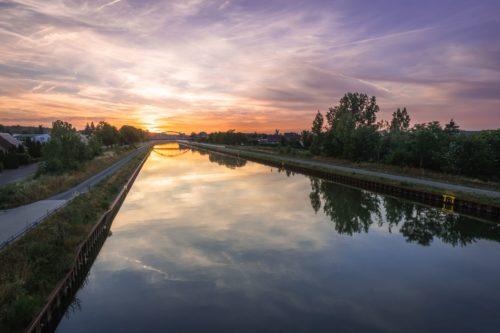 Der Mittellandkanal bei Haldensleben
