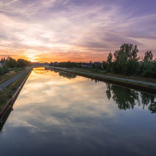 Mittellandkanal bei Haldensleben