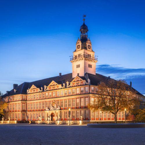 Schloss Wolfenbüttel bei Nacht